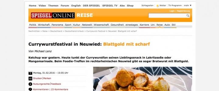 Unser Currywurst-Juror Flo von Spiegel-Online ertappt.